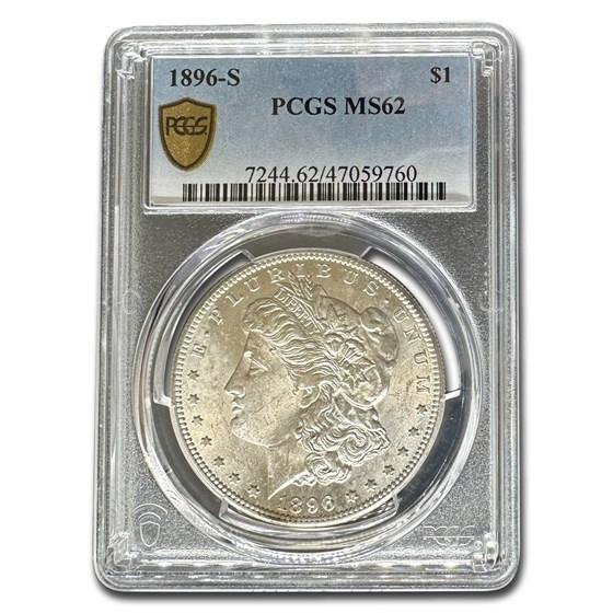 1896-S Morgan Dollar MS-62 PCGS