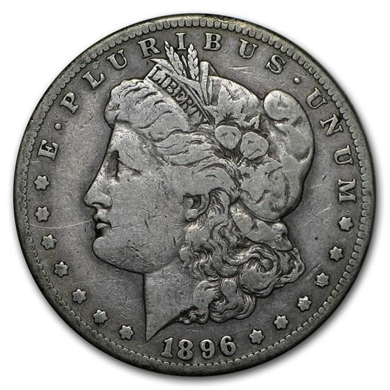 1896-S Morgan Dollar VG