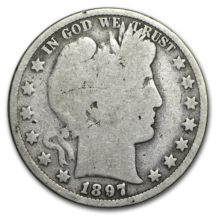 1897 Barber Half Dollar Good