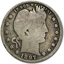 1897 Barber Quarter Good/VG