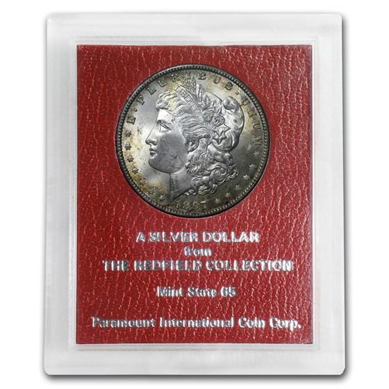 1897 Morgan Dollar MS-65 (Redfield Hoard)