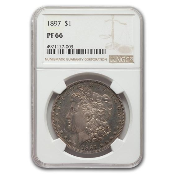 1897 Morgan Dollar PF-66 NGC