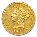 1897-O $10 Liberty Gold Eagle AU