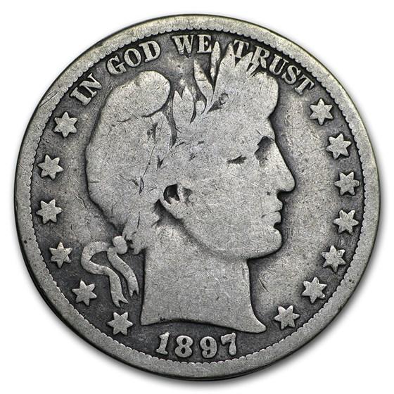 1897-O Barber Half Dollar Good