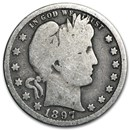 1897-O Barber Quarter Good