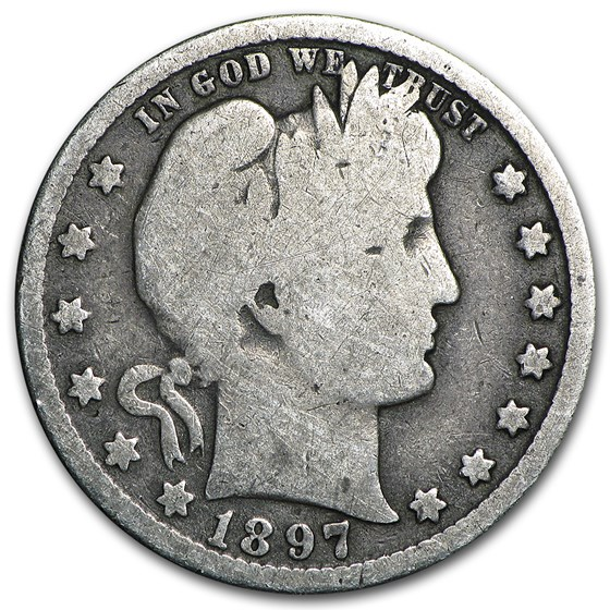 1897-O Barber Quarter Good