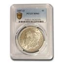 1897-O Morgan Dollar MS-61 PCGS
