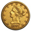 1897-S $10 Liberty Gold Eagle XF