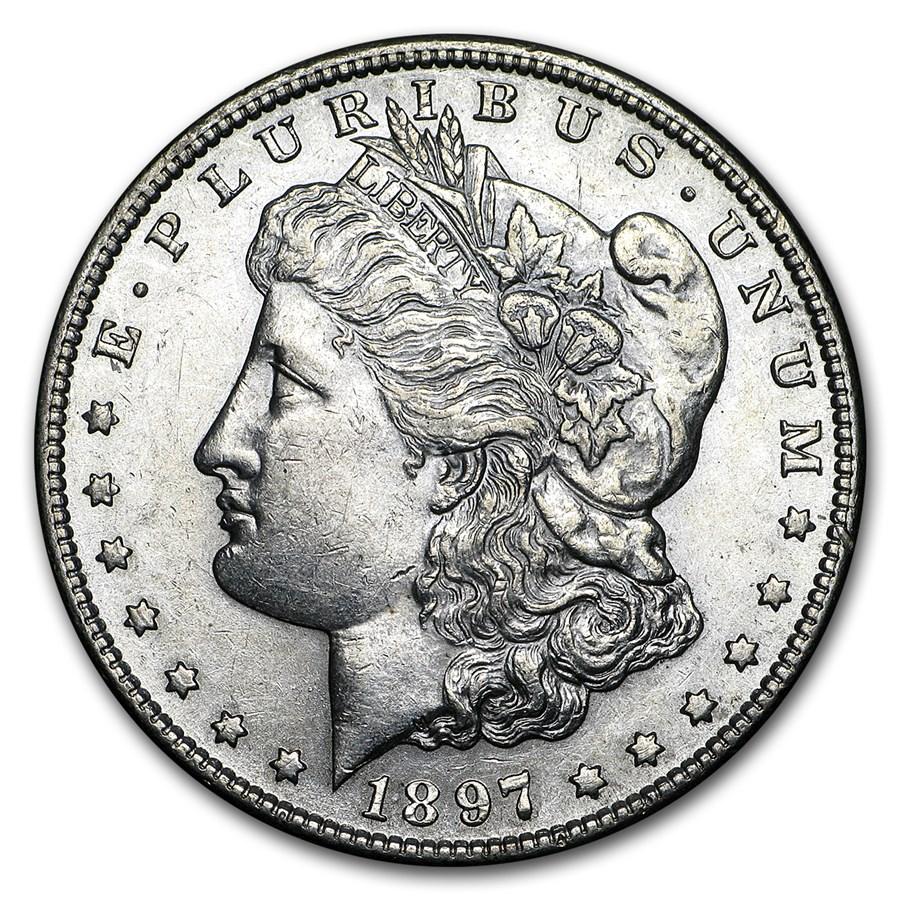 1897-S Morgan Dollar AU