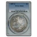 1897-S Morgan Dollar MS-62 PCGS