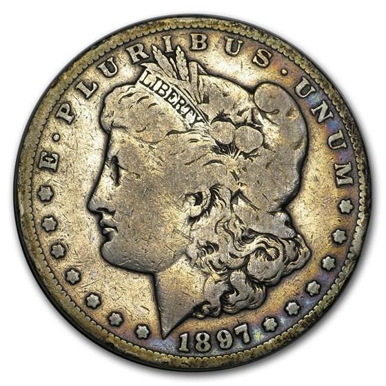 1897-S Morgan Dollar VG/VF