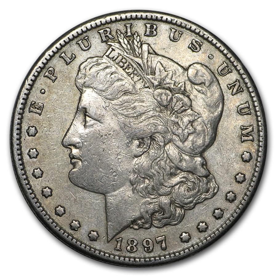 1897-S Morgan Dollar XF