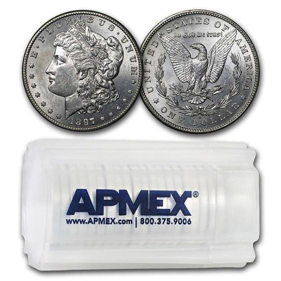 1897-S Morgan Dollars BU (20 Count Roll)