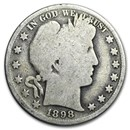 1898 Barber Half Dollar AG