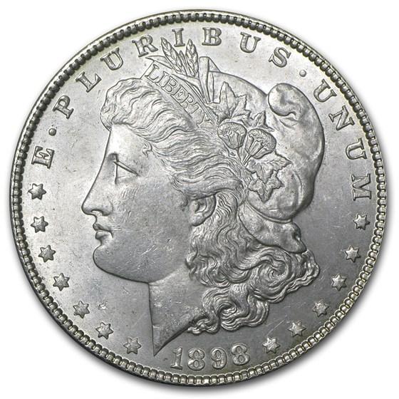 1898 Morgan Dollar BU