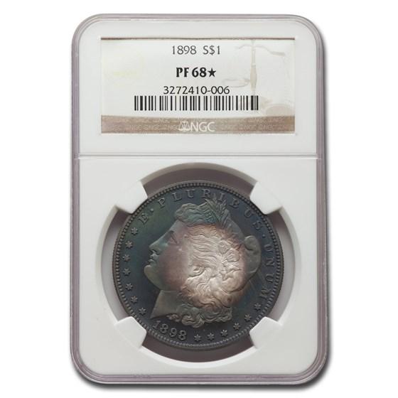 1898 Morgan Dollar PF-68* NGC