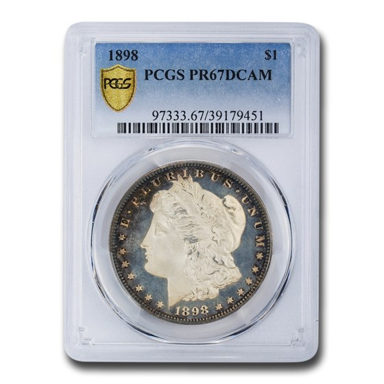 1898 Morgan Dollar PR-67 DCAM PCGS