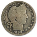 1898-O Barber Quarter AG