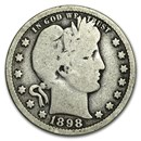 1898-O Barber Quarter Good