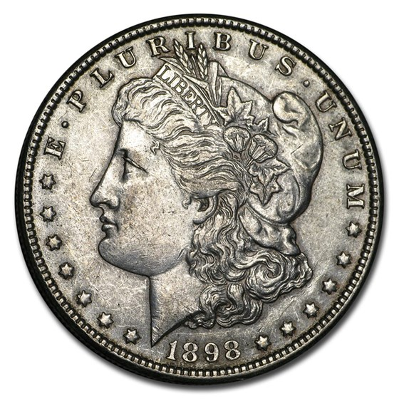 1898-O Morgan Dollar AU