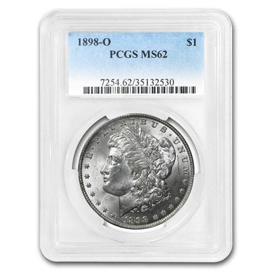 1898-O Morgan Dollar MS-62 PCGS