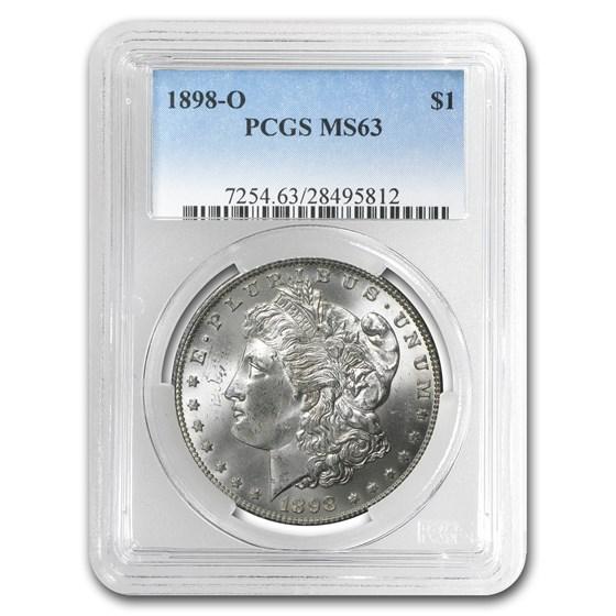 1898-O Morgan Dollar MS-63 PCGS
