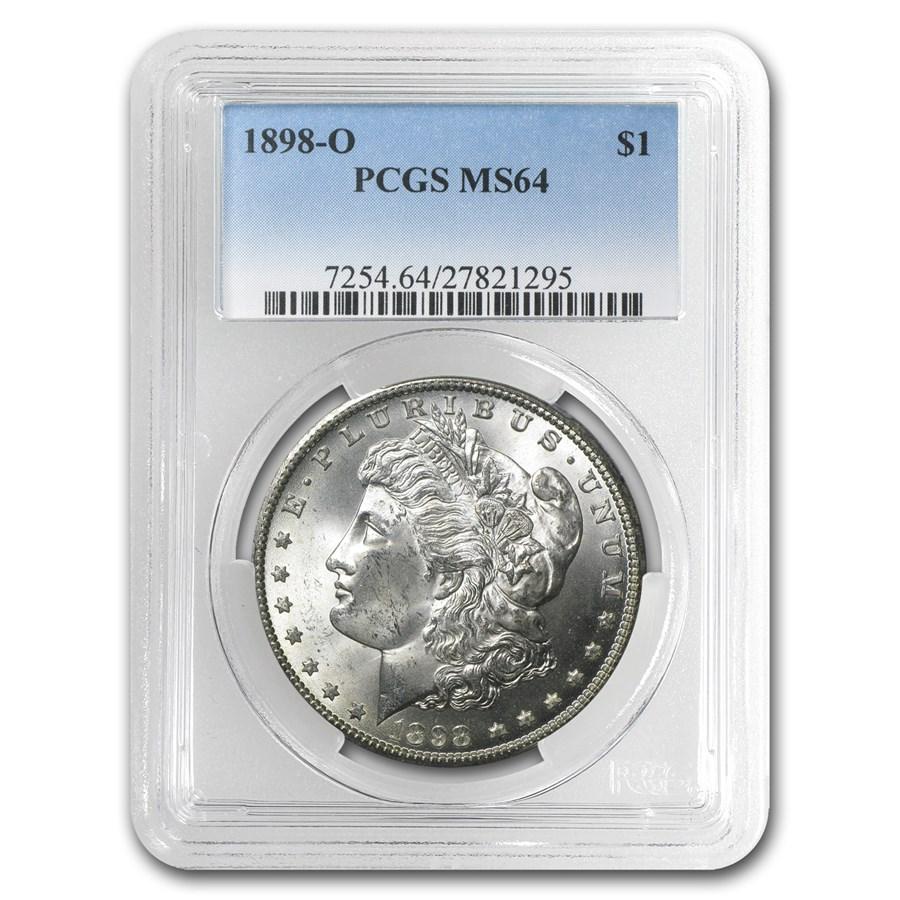 1898-O Morgan Dollar MS-64 PCGS