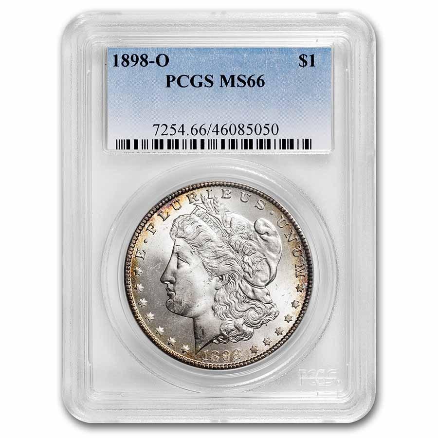 1898-O Morgan Dollar MS-66 PCGS