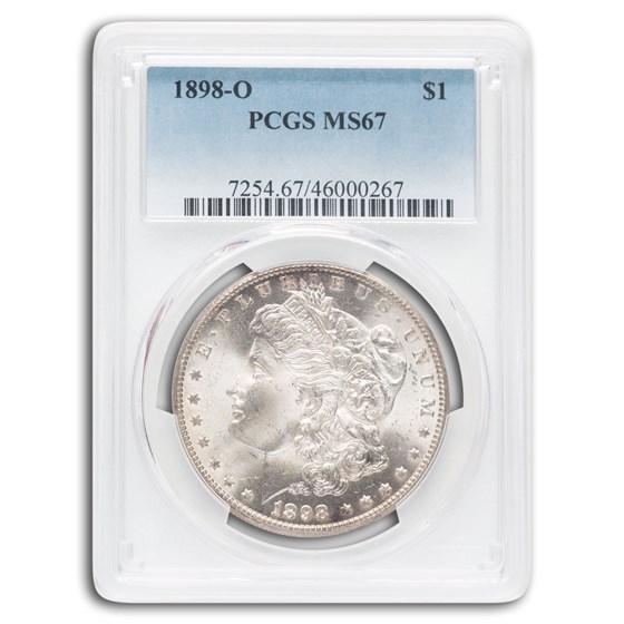 1898-O Morgan Dollar MS-67 PCGS