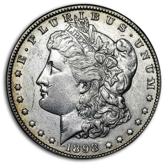 1898-O Morgan Dollar XF