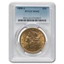 1898-S $20 Liberty Gold Double Eagle MS-62 PCGS