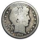 1898-S Barber Half Dollar AG