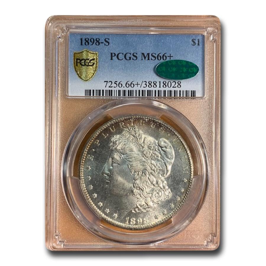1898-S Morgan Dollar MS-66+ PCGS CAC