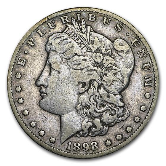 1898-S Morgan Dollar VF (USE 8469)