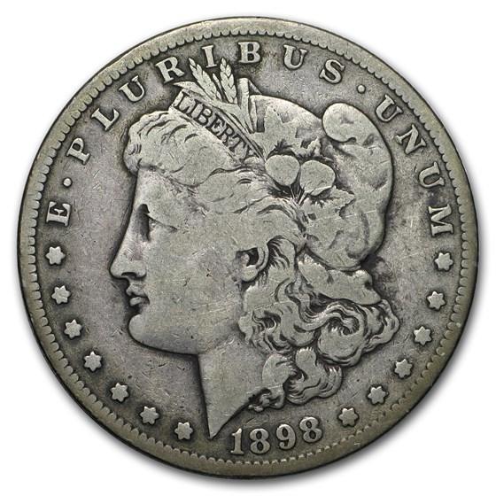 1898-S Morgan Dollar VG/VF