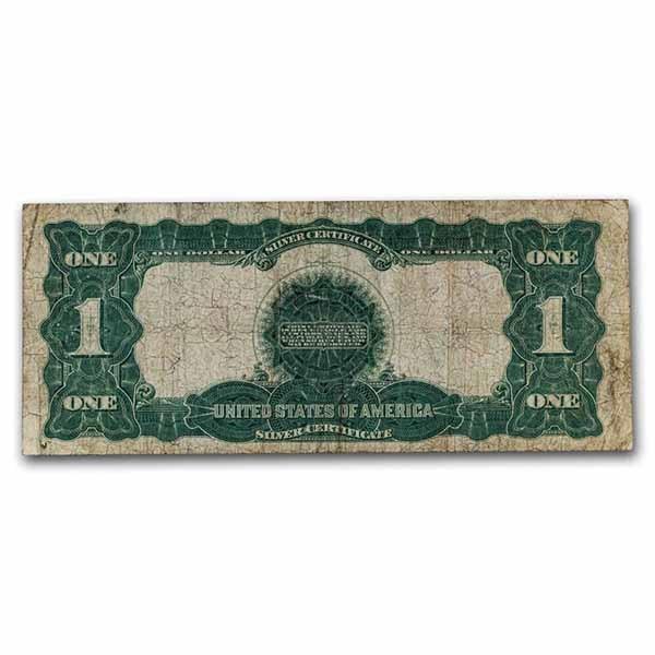 1899 $1.00 Silver Certificate Black Eagle Cull