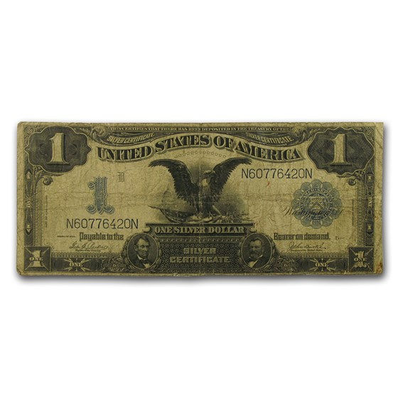 1899 $1.00 Silver Certificate Black Eagle VG (Fr#232)