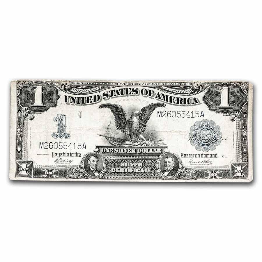 1899 $1.00 Silver Certificate Black Eagle VG (Fr#235)
