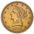 1899 $10 Liberty Gold Eagle AU