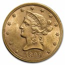 1899 $10 Liberty Gold Eagle BU
