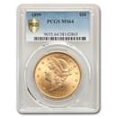 1899 $20 Liberty Gold Double Eagle MS-64 PCGS