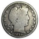 1899 Barber Half Dollar AG