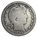 1899 Barber Quarter Good/VG