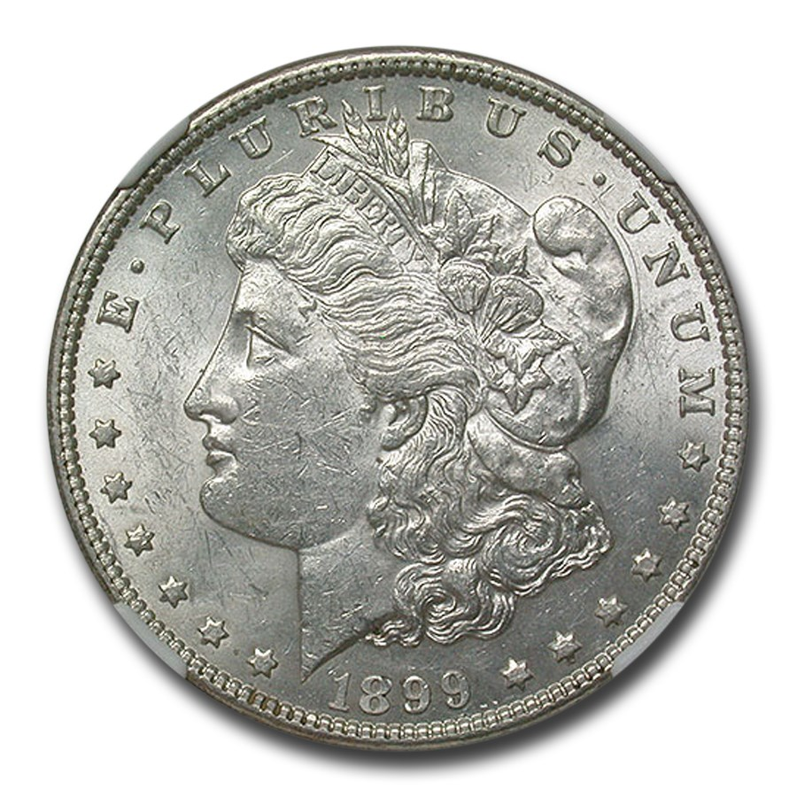 1899 Morgan Dollar AU-58 NGC