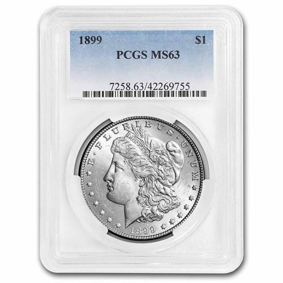 1899 Morgan Dollar MS-63 PCGS