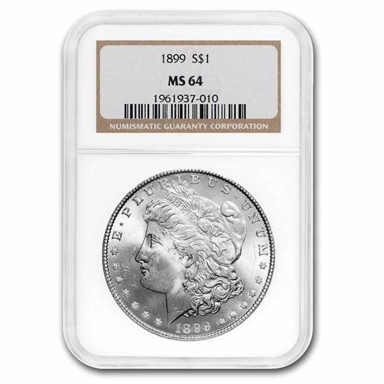 1899 Morgan Dollar MS-64 NGC