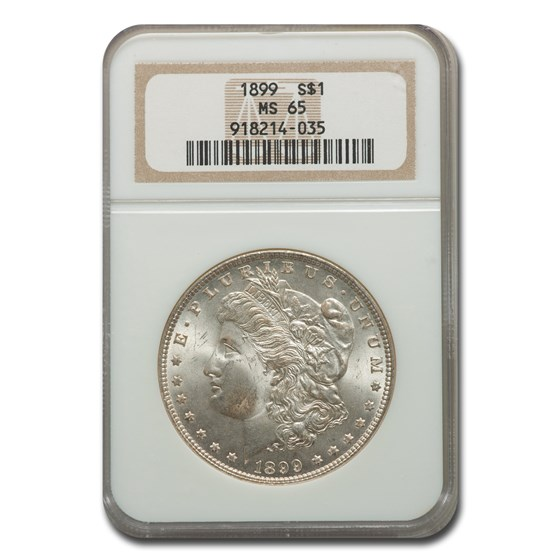 1899 Morgan Dollar MS-65 NGC