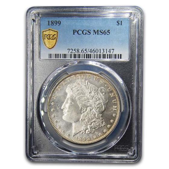 1899 Morgan Dollar MS-65 PCGS