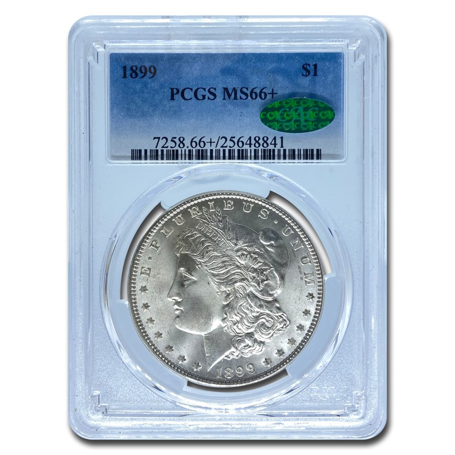 1899 Morgan Dollar MS-66+ PCGS CAC