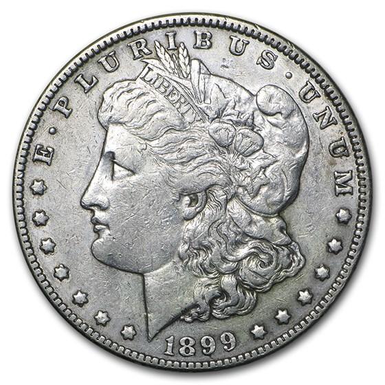 1899 Morgan Dollar VF